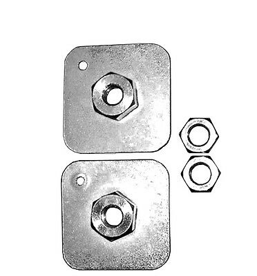 Plates & Nuts - Pack Of 2 SECURON 681/4