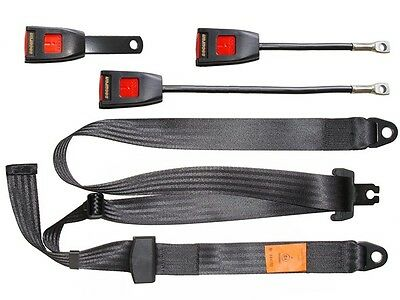 Seat Belt - Static Lap & Diagonal - Black SECURON 300/15