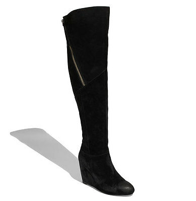 DV BY DOLCE Vita 'Kiki' Women's Suede Over the Knee Boot, sz