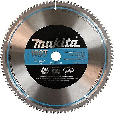 Makita A-93734 12-Inch 100 Tooth Micro Polished Mitersaw Blade
