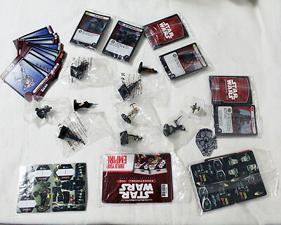 Star Wars miniatures rebel minis with cards, Pocketmodel TCG Trading Cards Game