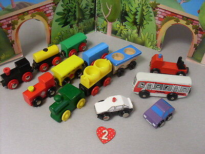Brio Compatible Trains And Trucks And Vehicles Bundle  Lot 2