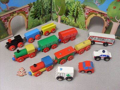 Brio Compatible Trains And Trucks And Vehicles Bundle  Lot 3