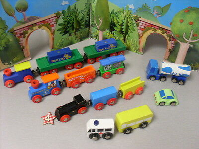 Brio Compatible Trains And Trucks And Vehicles Bundle  Lot 4
