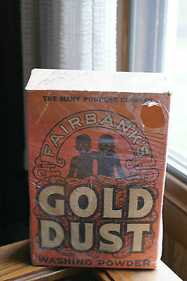 Old Vintage or Antique Advertising Fairbank's Gold Dust Washing Powder Cleaner