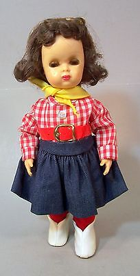 10 inch Tiny Terri Lee Doll in Display Box with Extra Clothes