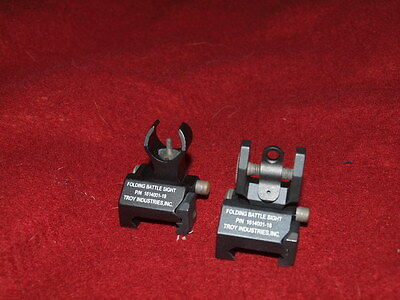 Brand New Elements Troy Replica Sight 1614001-19 For AEG GBB Airsoft Black