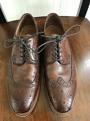 Johnston & Murphy Brown Leather Dress Shoes Size 8