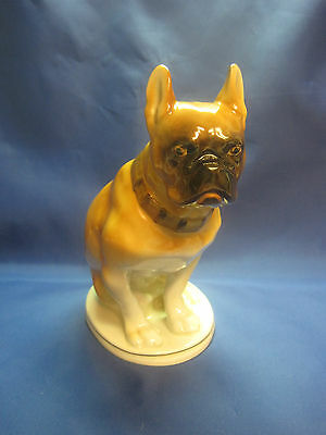 Very Beautiful Dog Boxer. Porcelain Figurine. THE USSR Russia