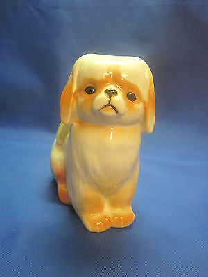 Very Beautiful Dog Lapdog. Porcelain Figurine. THE USSR Russia