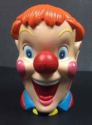 Ringling Bros Circus Clown Souvenir Cup Mug  With Attached Lid 2003.