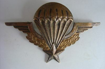 Insigne Brevet Militaire Parachutiste INDOCHINE MOURGEON