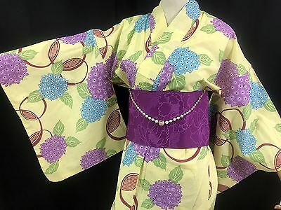 浴衣 Yukata japonais - Bouquets  - Import direct Japon 1431