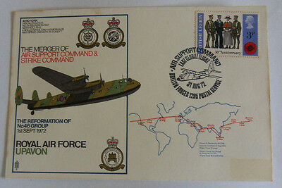 RAF Flown Cover- 31 Aug 1972 - Merger of Air Support Command - BFPS 1295