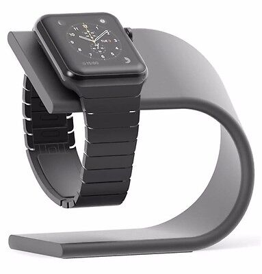 Pugo Top Apple Watch Stand Space Grey