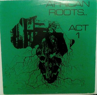african roots - act1 lp VG cond wackies WRAR 001.