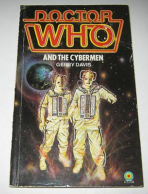 Doctor Who and the Cybermen by Gerry Davis (1981) Target Paperback Book
