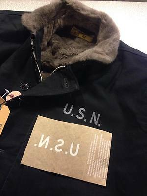 USN IRON ON DECAL for N-1 deck jacket, military jeans