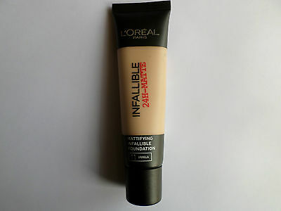 L'OREAL INFALLIBLE 24 HR MATTE FOUNDATION 35ml SHADE 10 PORCELAIN