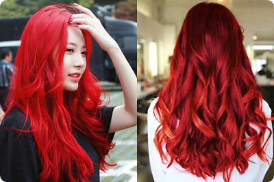 BEST!! OF BERINA Hair Color Cream Hair Dye Bright Red Color A23 ...