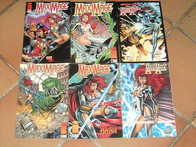 lot 6 albums MAXIMAGE n°1 2 3 5 6 et 7 - comics US VO / image