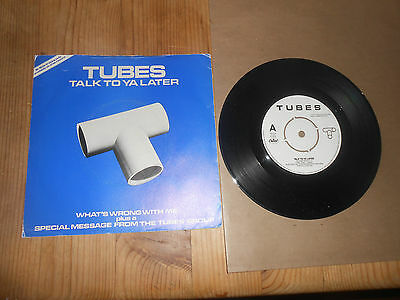 THE TUBES   TALK TO YA LATER    7 inch Vinyl