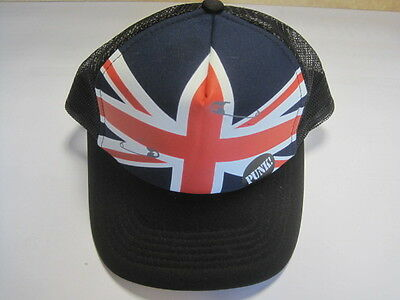 KIDS BASEBALL MESH CAP PUNK UK FLAG fashion boys girls hat (US Seller)