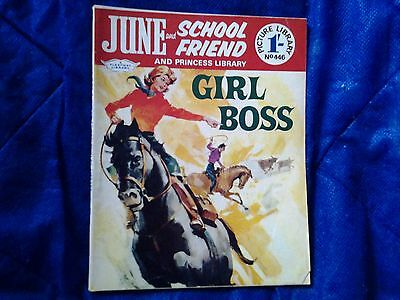 JUNE and SCHOOLFRIEND & PRINCESS  library  No.446/1968