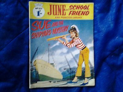 JUNE and SCHOOLFRIEND & PRINCESS  library  No.507/1969