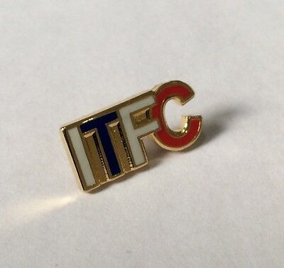 "IPSWICH TOWN Football Club Badge FC SUPPORTERS ""ITFC"" Enamel PIN"
