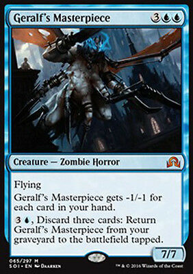 Magic the Gathering - Geralf's Masterpiece FOIL - MTG - Shadows over Innistrad