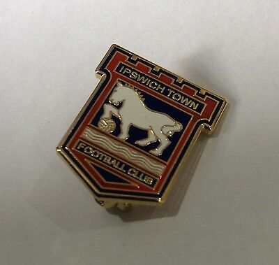 IPSWICH TOWN Football Club Badge FC SUPPORTERS ENAMEL PIN