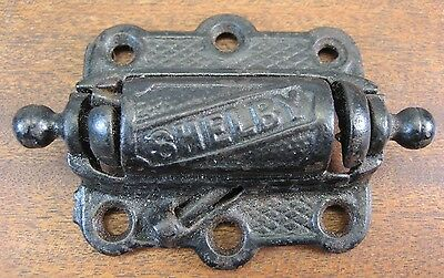 SHELBY Cast Iron Loaded Spring Hinge Victorian antique Screen Door Hardware