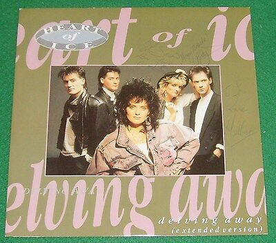 """Heart Of Ice ( Luv Bug ) - Delving Away - 12"""" Single Excellent Condition"""