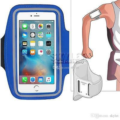 Gym Running Exercise Arm Band Sports Armband Case Holder For iPhone 6 6s IOS