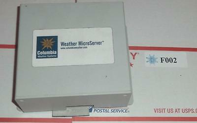 USE RARE HARD TO FIND WEATHER MICROSERVER interfaces CWS's weather stations