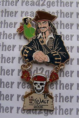 Disney Pin WDW It All Started With Walt Film & Television Jack Sparrow & Parrot