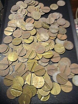 job lot vintage fruit machine tokens