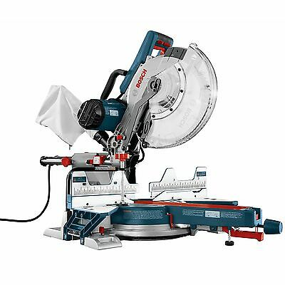 """12"""" Dual Bevel Compound Miter Saw Open Box Bosch Tools CM12SD"""