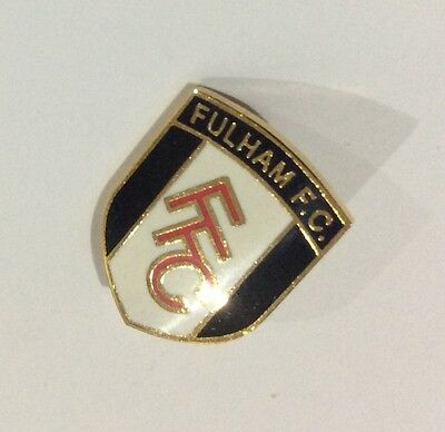 FULHAM Football Club Badge FC FFC Enamel SUPPORTERS PIN STYLE 1 of 3 DIFFERENT