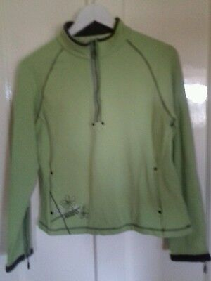 Ladies Musto Lime Green top / jacket size 16