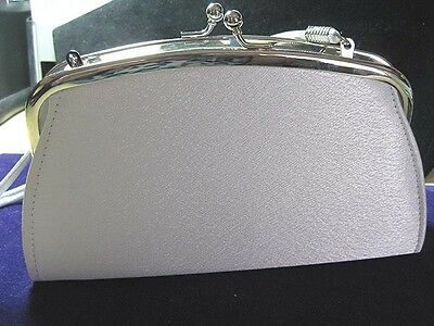 Petite White Satin Wedding Purse - Mariell 1503