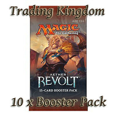 Magic the Gathering - 10 x Aether Revolt Booster Packs - MTG - New/Sealed