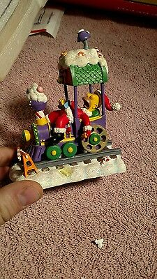Simpsons Christmas Express Collection asleep at the wheel