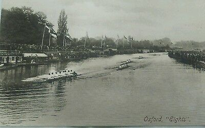 postcard Oxford, OXFORD EIGHTS, C1920,FRITH SERIES