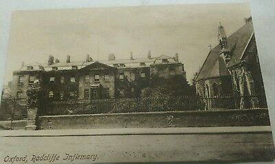 postcard,Ratcliffe Infirmary, Oxford. C1900. Friths Series