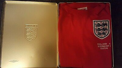 England 1966 limited edition football shirt by umbro vintage replica world cup.