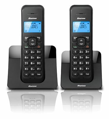 New Binatone Luna 1215 DECT Twin Digital Cordless Telephone With Answer Machine