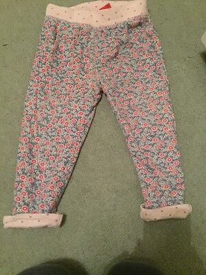 Girls Mini Boden Baby Boden  Reversible Trousers 2-3 Years
