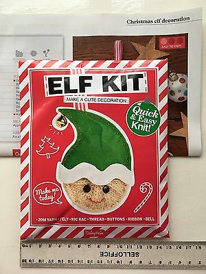 'ELF KIT' Quick & Easy Knit KIT From 'Simply Knitting' magazine